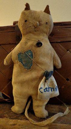 """Kitty's, Catnip & Calico Hearts"" || Of CLOTH AND HAND"