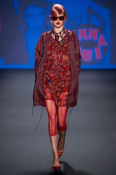 Anna Sui Spring 2013 Ready-to-Wear Fashion Show - Lindsey Wixson