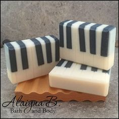 Piano soap. Because I only like clean music.