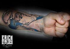 Tattoo Popeye Arm Tattoo Artists, Tattoo Ideas, Tattoos, Tatuajes, Tattoo, Tattos, Tattoo Designs
