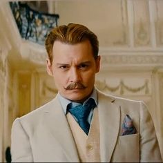 Johnny Depp Is Funny, Blond, and Kinda Sexy in the Mortdecai Trailer