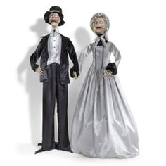 Mr. and Mrs. Deadwalker Figures