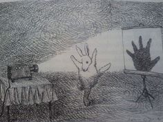 rabbit hand shadow puppet