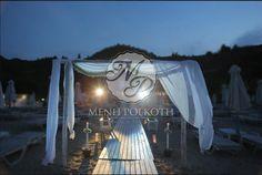 Beach wedding stunning arch with babybreath garland! Garland, Arch, Decorations, Wedding, Valentines Day Weddings, Longbow, Arches, Weddings, Wedding Arches