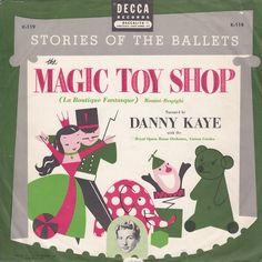The Magic Toy Shop— vintage kids  album cover — Danny Kaye Decca K- 4419d0c98d75
