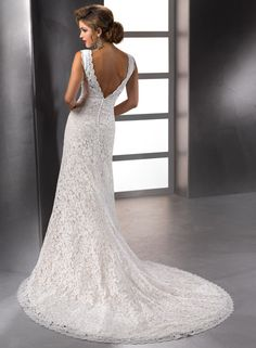 Meredith - Bridal Gown by Maggie Sottero (back)