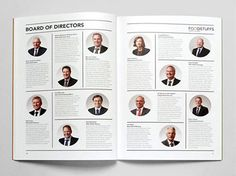 Editorial Layout, Editorial Design, Print Layout, Layout Design, Annual Report Layout, Annual Reports, Directory Design, Staff Directory, Email Marketing Design