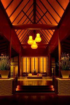 The Barai Spa, Hua Hin #Architect BUNNAG ARCHITECTS INTERNATIONAL CONSULTANTS #landscape BILL BENSLEY #lightingdesign @visionlightingdesign