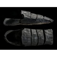 Tudor Shoes. Place of origin: London, England (probably, made)  Date: 1520s - 1540s. Victoria & Albert Museum, London.