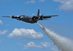 U.S. Air Force to deploy C-130 firefighting aircraft to battle western wildfires