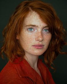 "294 Likes, 6 Comments - Redheads by Ary (@redheads_by_ary) on Instagram: ""@madeleinevilleminot"""