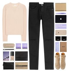 """i'll wait 'til the moon appears, that way i know it's time to dream about us"" by untake-n ❤ liked on Polyvore featuring Current/Elliott, Chloé, Church's, Paperchase, Aesop, Burberry, NARS Cosmetics, Tweezerman, claire's and MANGO"