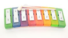 Glockenspiel in Regenbogenfarben von Decor-Spielzeug