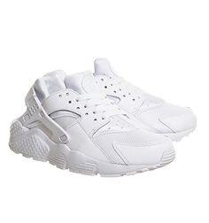 Nike Huarache Gs White White Pure Platinum - Unisex