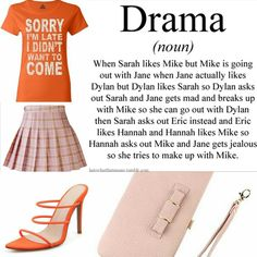 THE DRAMA QUEEN! If you can't avoid it, be worth it! T-Shirt: $15 Skirt: $15 Slide Sandals $30 Clutch $20 Fashion Images, Fashion Quotes, Fashion Outfits, Womens Fashion, Fashion Blogs, Fashion Trends, Fashion Ideas, Street Style Women, Fashion Beauty