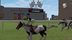 HORSE RACING 2016, PS4 GAMEPLAY (More Like - HORSE RAGING 2016)