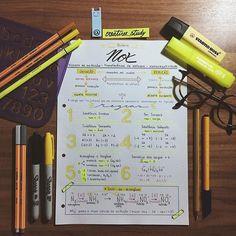 #estudo #enem #cantinhodeestudos #sharpie #studing #study #staedtler #stabilo #studygram #medicina #medbulanda #vestibulando #resumo #química #nox