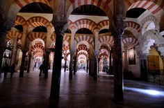 The Cathedral and former Great Mosque of Córdoba, in ecclesiastical terms the Catedral de Nuestra Señora de la Asunción (English: Cathedral of Our Lady of the Assumption), and known by the inhabitants of Córdoba as the Mezquita-Catedral (Mosque–Cathedral), is today a World Heritage Site and the cathedral of the Diocese of Córdoba. It is located in the Andalusian city of Córdoba, Spain.  The site was originally a pagan temple, then a Visigothic Christian church in the year 600, before the…