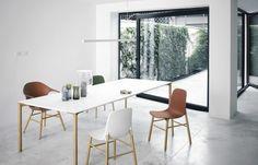 Boiacca wood table #home #kristalia #burovorm