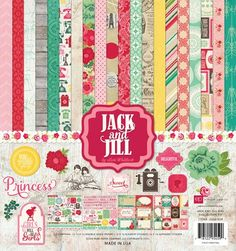 Echo Park Paper Company Jack and Jill Girl Collection Kit Echo Park Paper Company