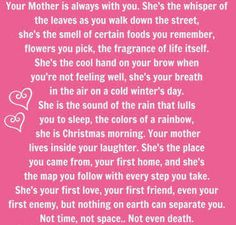 I thought this was really accurate and sweet.. and then I got to the last line and it got a wee-bit morbid. So just ignore the last 3 words and know that I just mean the first part... LOL
