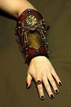 Steampunk Spider Bracer
