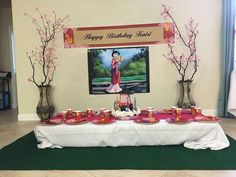 Kairi's amazing Mulan Party | CatchMyParty.com