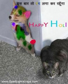 Send beautiful holi greetings!