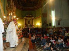 Homenaje a la Virgen del Valle de los jóvenes