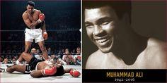 Muere mas grande leyenda del boxeo profesional: Muhammad Alí