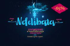 Nefelibata Font Collection by MyCreativeLand on @creativemarket