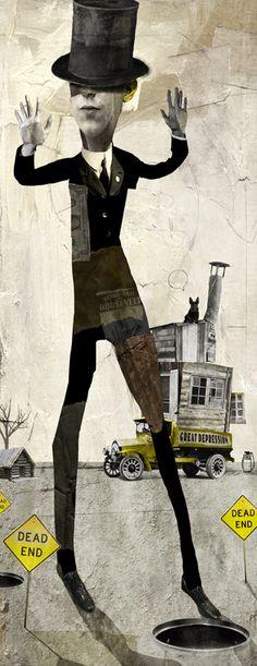 Arty collage by Antonello Silverini   ArtisticMoods.com