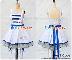S W Cosplay R2D2 Retro Style Dress Costume