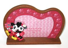 China OEM Minnie Mouse Resin Photo Frame Manufacturer