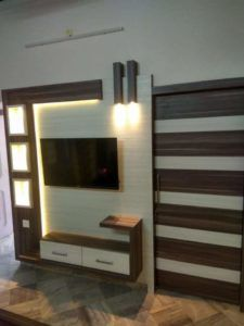 most beautiful lcd panel design collection . new 2019 lcd panel designs Lcd Unit Design, Lcd Wall Design, Wall Unit Designs, Living Room Tv Unit Designs, Tv Unit Decor, Tv Wall Decor, Wall Tv, Entryway Decor, Tv Unit Furniture Design