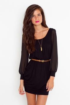 long sleeve dress!