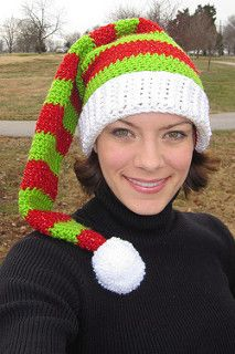 Silly Simple Elf Hat pattern by Pren Wilcox