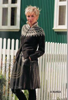 - Icelandic Ranga Women Wool Cardigan - Tailor Made - Nordic Store Icelandic Wool Sweaters - 1