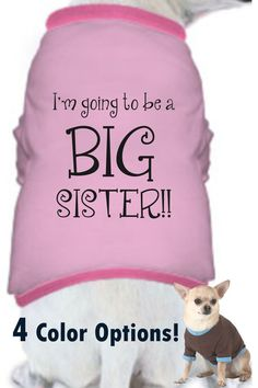 CUSTOM COLORS / Doggie Shirt / Handmade / I'm The by TeesToPlease, $13.99 so cute!