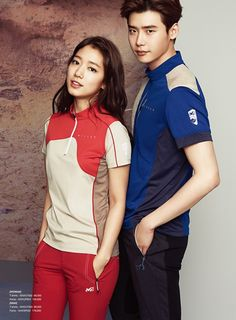 More of 'Pinocchio's Lee Jong Suk and Park Shin Hye for 'Millet' | allkpop.com