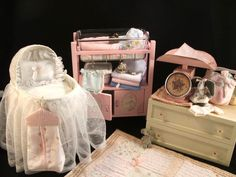 Larger Size Nursery Furniture, Maybe 1:4 Or 1:6 (made By · Baby Doll ...