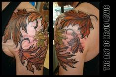 Oak leaves tat