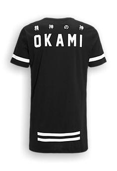 long-fit T-shirt black Mens Tee Shirts, T Shirt, Boys Designer Clothes, Waistcoat Men, Cool Graphic Tees, Cyberpunk Fashion, Tee Design, Apparel Design, Mens Clothing Styles