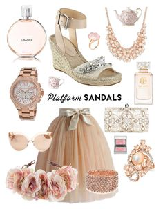 """Untitled #98"" by meeps01 on Polyvore featuring Chicwish, Ivanka Trump, Accessorize, Chanel, Charter Club, Michael Kors, Linda Farrow, Rock 'N Rose, Tory Burch and LE VIAN"