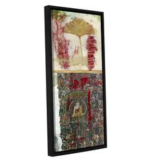 Medicine Buddah by Elena Ray Gallery-Wrapped Floater-Framed Canvas