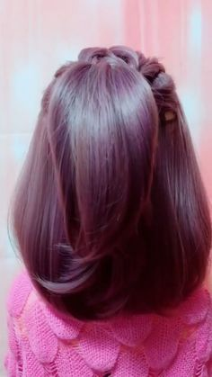 haar ideen Hairstyle Tutorial 840 Hair ideas for all hair lengths There are thousands of different h Super Easy Hairstyles, Easy Hairstyles For Long Hair, Cool Hairstyles, Easy Hairstyles Tutorials, Short Hair Tutorials, Short Hair Updo Easy, Braided Crown Hairstyles, Hairstyles Videos, Men's Hairstyle
