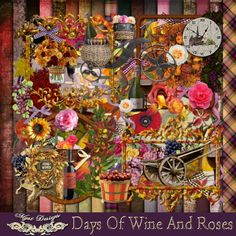 Fine Wine, Wines, My Design, Rose, Day, Painting, Pink, Roses, Painting Art