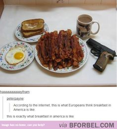Just Another American Breakfast…