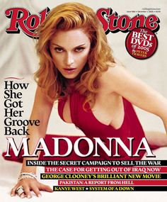"""Upon the release of the earth shattering """"Confessions on a Dance Floor"""" in 2005, Rolling Stone asked Madonna how she got her groove back...as if it had ever left."""