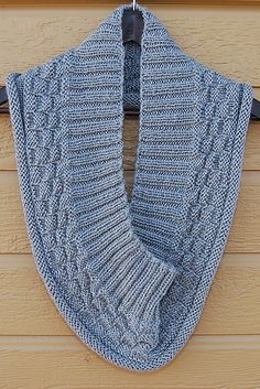 Made this infinity scarf for my son. Very easy to knit. Looks great on.